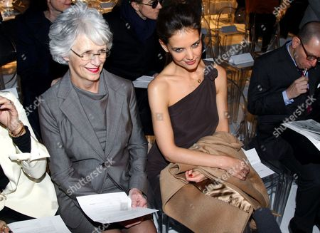 Katie Holmes and mum Kathleen Holmes