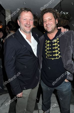 Stock Picture of Nick Jones and Lars von Bennigsen