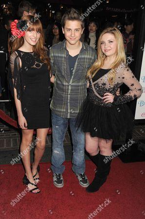Stock Picture of Bella Thorne, Garrett Backstrom, Kailey Swanson