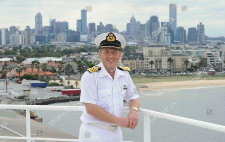 Stock Image of Captain Julian Burgess