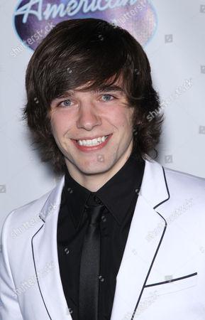 Editorial image of American Idol top 24 semi-finalists, Hollywood, Los Angeles, America - 24 Feb 2011