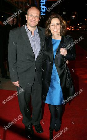 Stock Image of Kirsty Wark and husband Alan Clements
