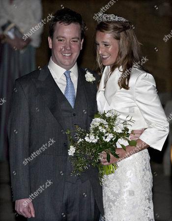 Patrick Valentine and Katie Percy