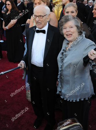 Stock Photo of Eli Wallach and Anne Jackson