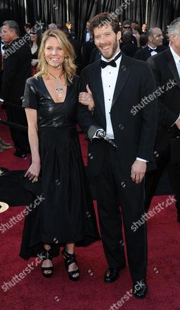 Stock Photo of Aron Ralston and wife