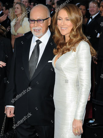 Rene Angelil and Celine Dion