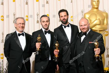 Steven Spielberg, Iain Canning, Emile Sherman and Gareth Unwin
