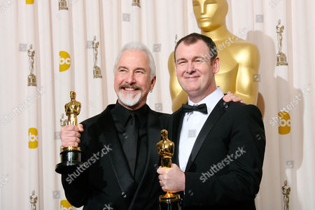 Stock Image of Rick Baker and Dave Elsey