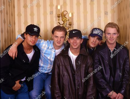 Boyzone - Keith Duffy, Mikey Graham, Stephen Gately, Shane Lynch and Ronan Keating