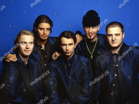 Boyzone - Ronan Keating, Keith Duffy, Stephen Gately, Shane Lynch and Mikey Graham