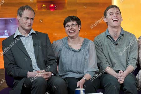 Stock Photo of Jonathan Prest, Carol Geddes and Michael