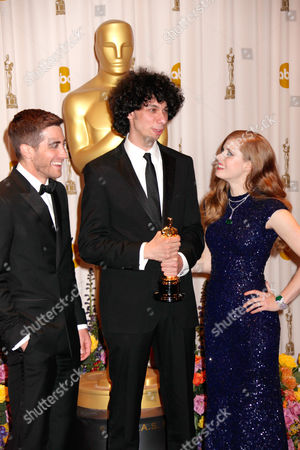 Jake Gyllenhaal, Luke Matheny, Amy Adams