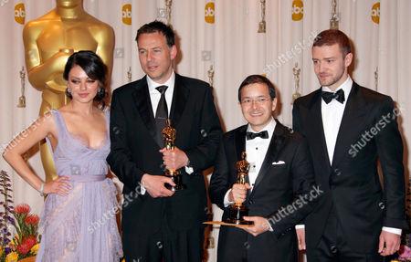 Mila Kunis, Andrew Ruhemann, Shaun Tan, Justin Timberlake
