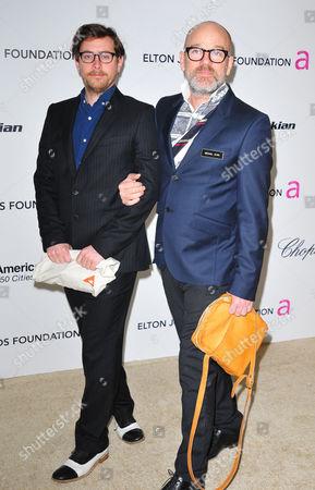 Michael Stipe and Thomas Dozol