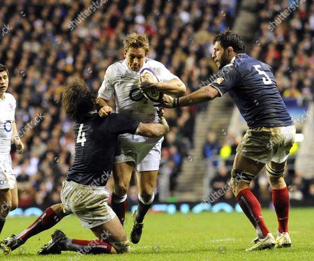 Editorial image of England v France, RBS 6 Nations Rugby Union Match, Twickenham, London, Britain - 26 Feb 2011