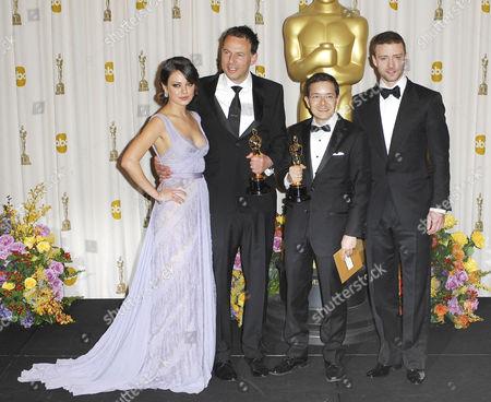 Mila Kunis, Shaun Tan, Andrew Ruhemann, Justin Timberlake