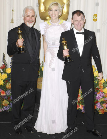 Rick Baker, Cate Blanchett, Dave Elsey