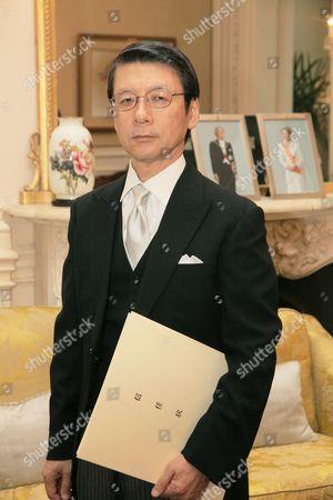 Japanese Ambassador Keiichi Hayashi at the Presentation of Credentials in London