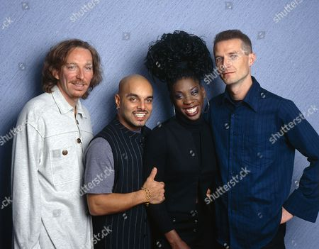 M People - Mike Pickering, Shovell, Heather Small and Paul Heard
