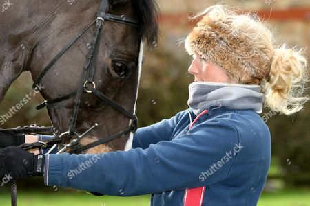 Editorial picture of Phoebe Buckley at a Stables Near Huntingdon, Cambs, Britain - 27 Feb 2011