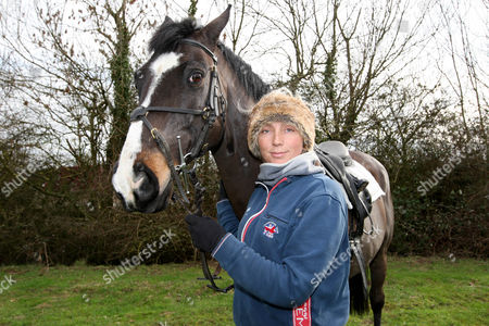 Editorial image of Phoebe Buckley at a Stables Near Huntingdon, Cambs, Britain - 27 Feb 2011