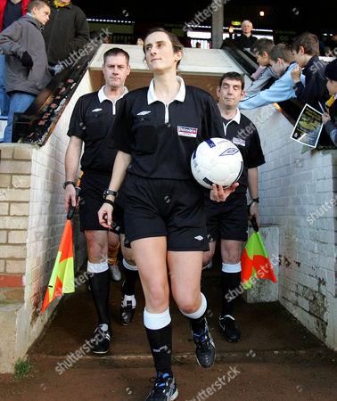 Female Referee, Amy Rayner