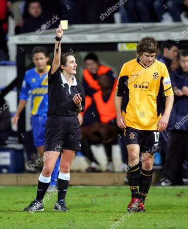 Female Referee, Amy Rayner (now Amy Fearn)