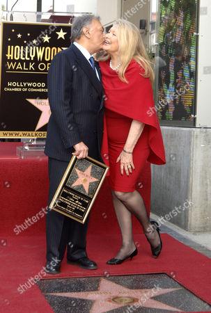 Zubin Mehta and wife Nancy Kovack