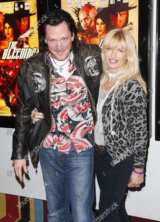 Michael Madsen and Deanna Madsen