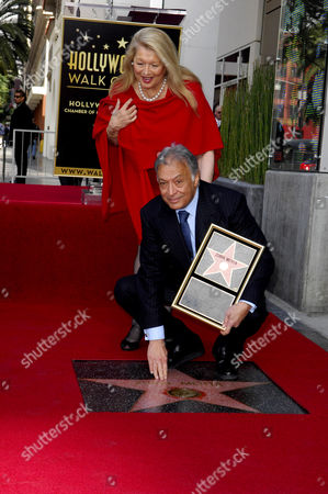 Editorial picture of Zubin Mehta receives Star on The Hollywood Walk Of Fame, Los Angeles, America - 01 Mar 2011
