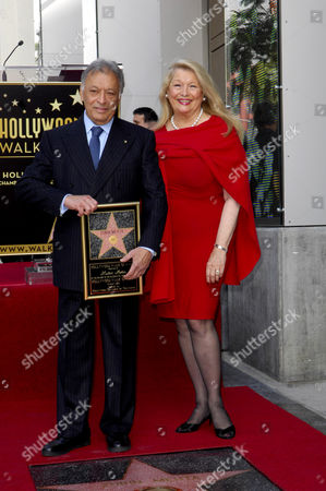 Editorial photo of Zubin Mehta receives Star on The Hollywood Walk Of Fame, Los Angeles, America - 01 Mar 2011
