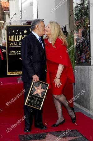 Zubin Mehta, wife Nancy Kovack