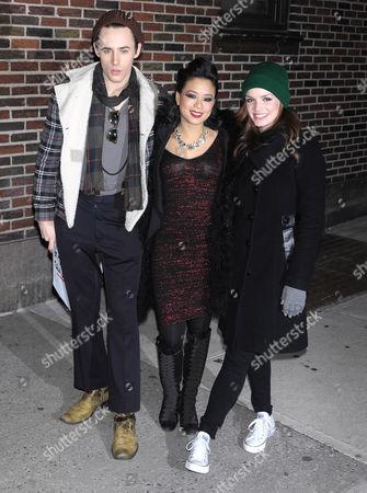 Reeve Carney, TV Carpio and Jennifer Damiano
