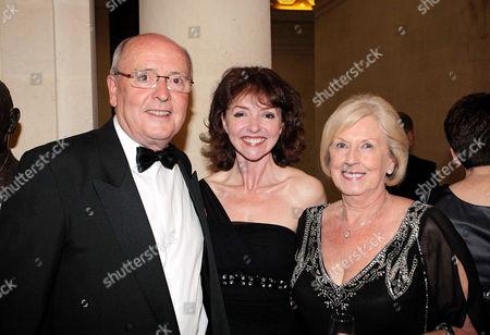 Howard Brydon with Melanie Walters and Joy Brydon