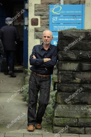 Editorial photo of Dr Philip Nitschke gives public speech on assisted suicide at the Quakers Meeting House in Cardiff, Wales, Britain - 24 Feb 2011