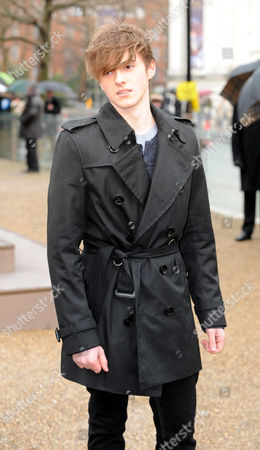 London Fashion Week A/w 2010... Alex Watson Arrives At The Burberry Prosum Autumn / Winter Collection Shown At London Fashion Week.