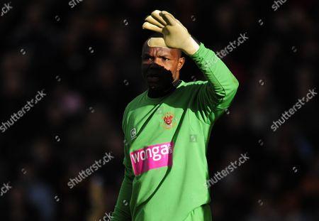 Blackpool goalkeeper Richard Kingson