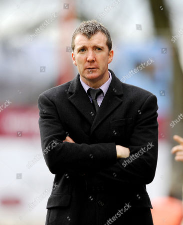 The Port Vale Manager Jim Gannon