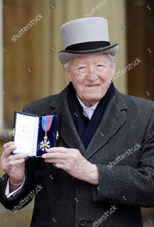 Journalist Sandy Gall receives The Most Distinguished Order of Saint Michael and Saint George for services to the people of Afghanistan