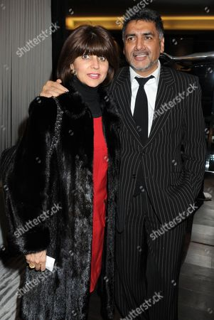 Aisha Caan and James Caan