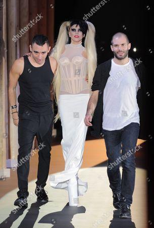 Editorial photo of Thierry Mugler Autumn Winter 2011 Fashion Show, Paris, France - 02 Mar 2011