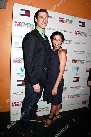 Stock Photo of Pablo Schreiber and Jessica Monty