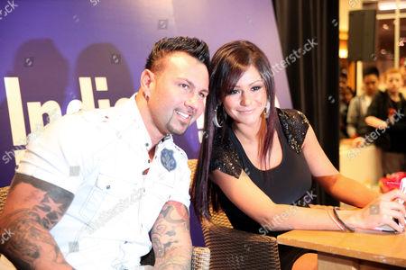Roger Matthews with Jenni J-Woww Farley