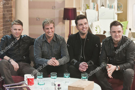 Westlife - Nicky Bryne, Kian Egan, Mark Feehily and Shane Filan