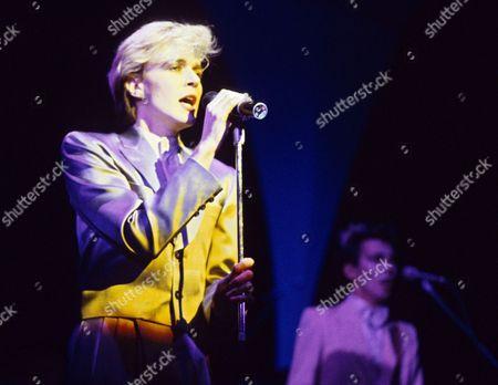 Japan in concert at the Hammersmith Odeon, London, Britain - David Sylvian