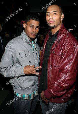 Stock Photo of Soriano Quarless and Andrew Quarless