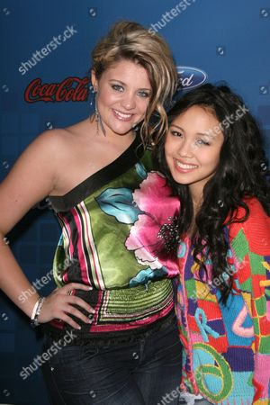 Lauren Alaina and Thia Megia