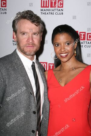 Tate Donovan and Renee Elise Goldsberry