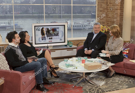 Mike Toolan and Lesley Joseph with Eamonn Holmes and Ruth Langsford