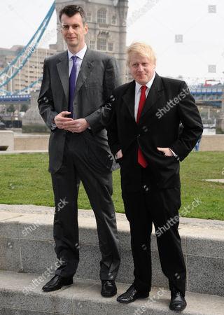 Mikhail Prokhorov and Boris Johnson